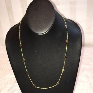 Gorjana adjustable gold necklace